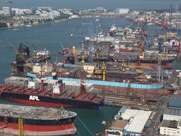 Keppel Shipyard  (Singapore Gul Yard)