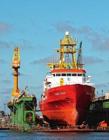 GERMAN DRYDOCKS ex Rickmers Lloyd Dockbetrieb GmbH Germany