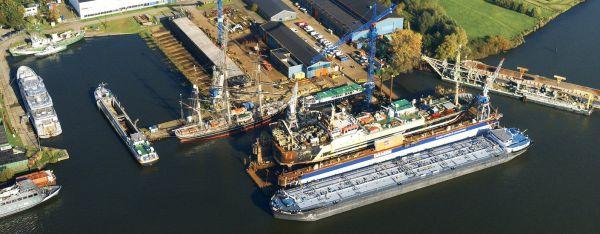 Damen Shiprepair Oranjewerf Amsterdam The Netherlands Shipyards