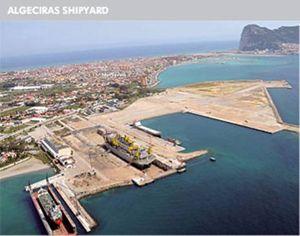 ASTILLEROS CERNAVAL MALAGA SHIPYARD SPAIN