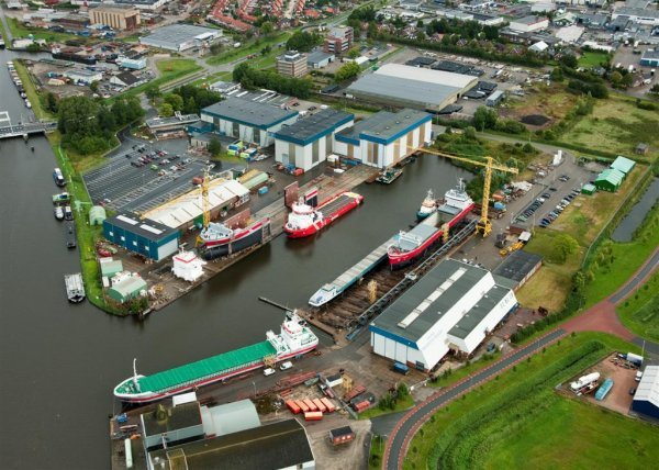 Shipyard Royal Niestern Sander  The Netherlands