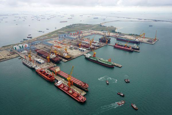 Sembcorp Marine Tuas Road Yard Singapore