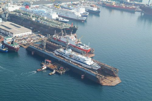 Piraeus Port Authority S.A. OLP Shipyards Greece