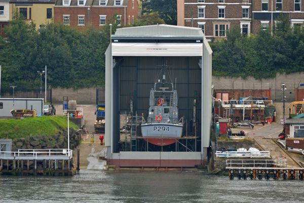 UK Docks Tyneside