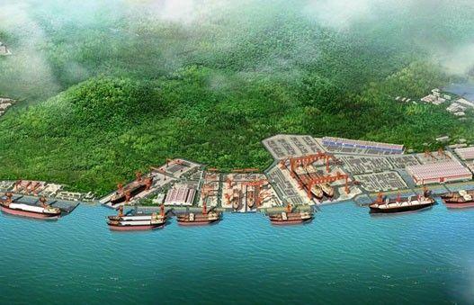 Jinhai Shipyard Daishan Changtu Zhoushan China
