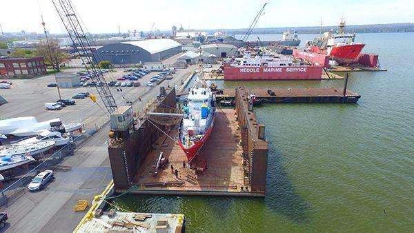 Hamilton Shipyard Canada