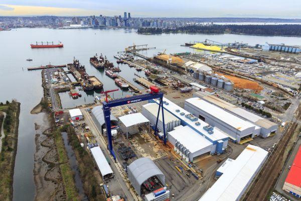 Vancouver Shipyards Canada