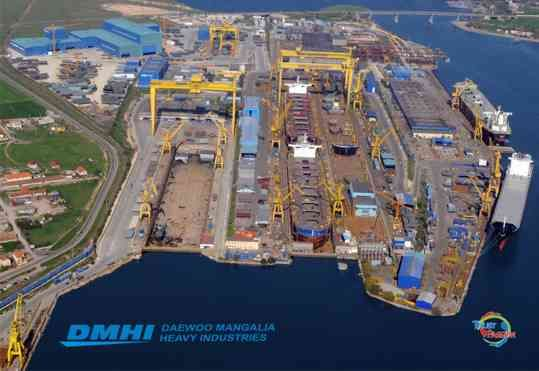 DAEWOO Mangalia Heavy Industry DSME Shipbuildng Romania