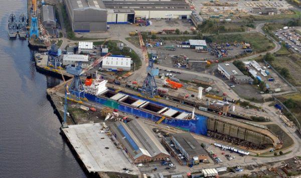 A&P Group TYNE Shipyard England