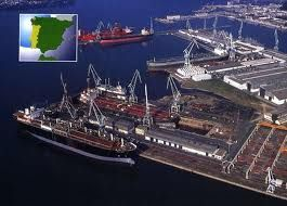 Navantia Fene Ferrol Shipyards Spain