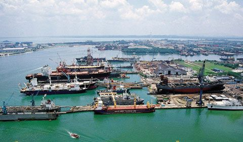 Jurong SML Pte Ltd Shipyard Singapore