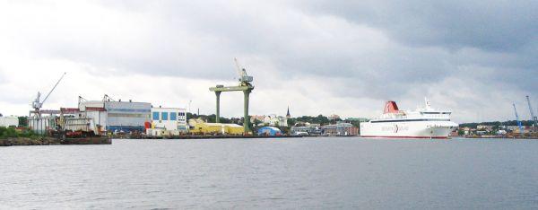 Damen Oskarshamnsvarvet Sweden Shipyards